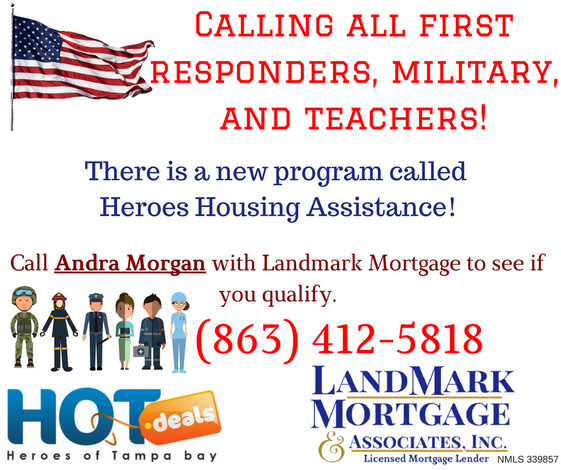 ANNOUNCING HEROES HOUSING ASSISTANCE