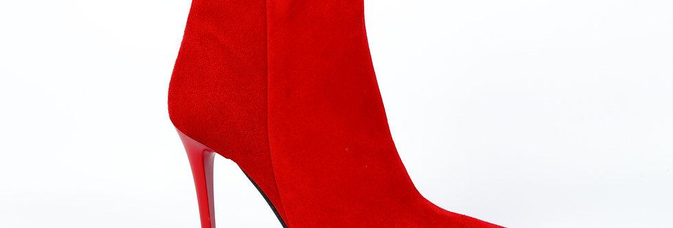Fabio Fabrizi 1015 Czerwony Zamsz