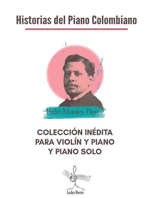 Colección de obras inéditas piano solo, violín y piano PedroMP