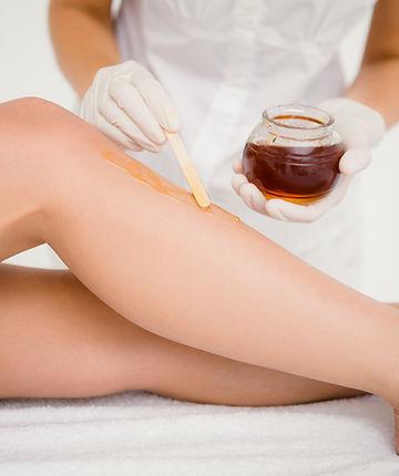 renay crosby spa leg wax
