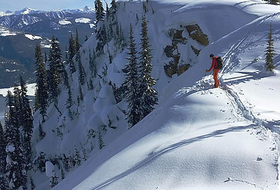 Begbie Shoulder Revelstoke backcountry skiing