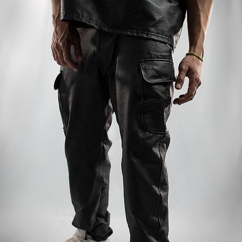 Pantalón - cargo Vinipiel