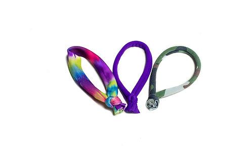 c.HAIR.i.TEE® Variety Hair Tie 3 pack
