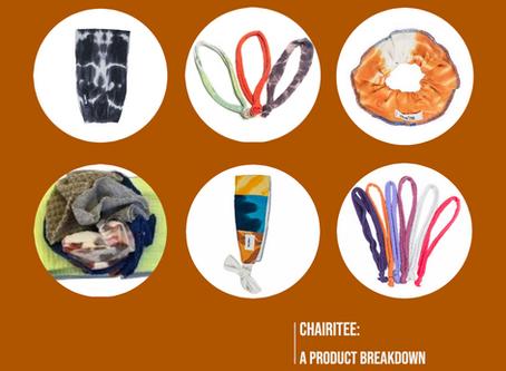 cHAIRiTEE: a product breakdown