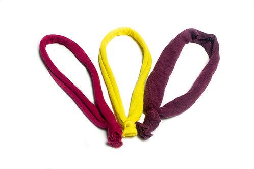 c.HAIR.i.TEE® Solid Headband 3 Pack