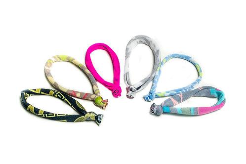 c.HAIR.i.TEE® Print Hair Tie 6 Pack