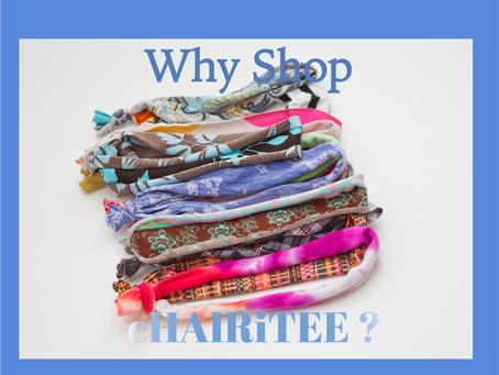 5 reasons to shop cHAIRiTEE