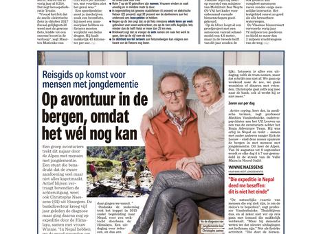 Het Nieuwsblad over de reisgids