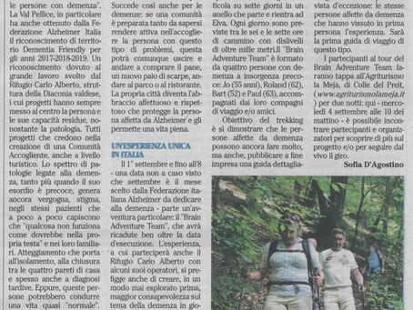 Italiaanse pers kijkt uit naar onze komst