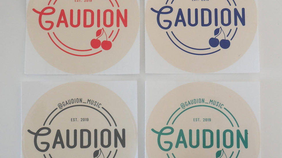 Gaudion Bumper Sticker