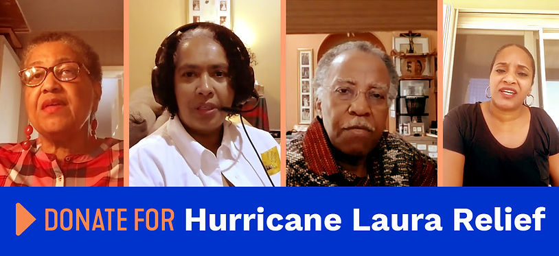 Micah Donate for Hurricane Laura relief.