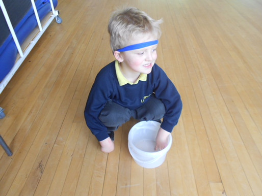 Pear Class (Reception) have enjoyed looking for shapes in the environment!