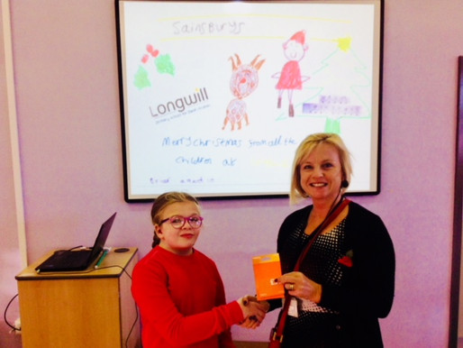 Briar is the winner of our Sainsbury's 'Design a Bag' competition. She received a £10 Sainsburys vou
