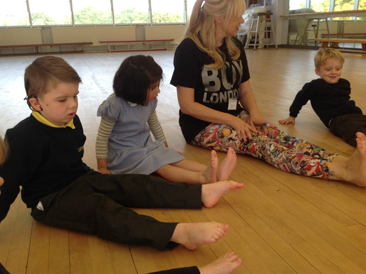 Foundation pupils have had a wonderful time in dance this week. They really enjoyed practicing their