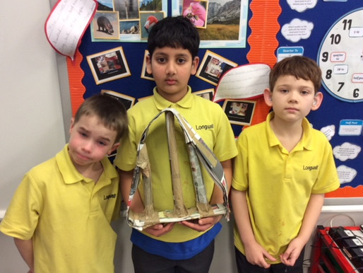 In Sycamore Class, we worked together to complete a team challenge. We had to build a bridge that wo