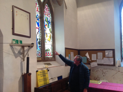Years 1 and 2 had a wonderful time visiting St. Laurence's church today. ...Part 2