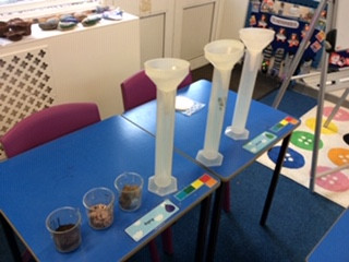 Y4 complete their learning about rocks and soils