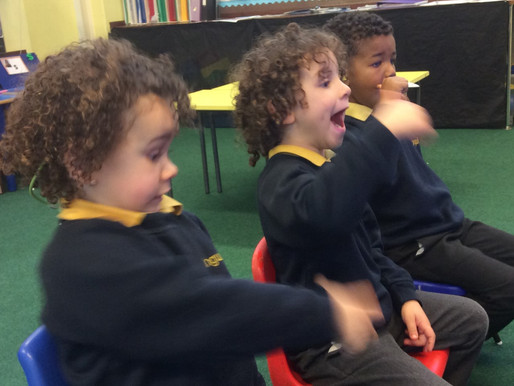 Foundation Bears have enjoyed using this computer programme to help them with their letter formation