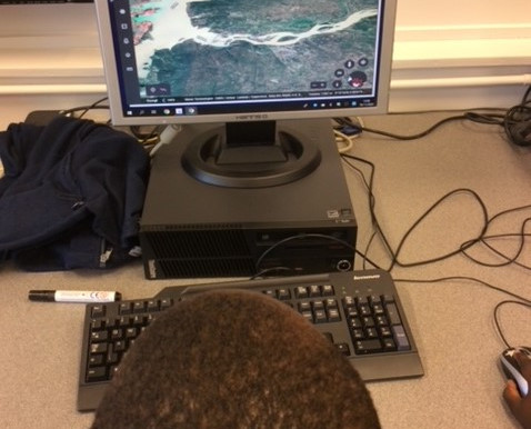 Year 4 Monkeys loved learning how to use Google Earth to find the historic city of Benin