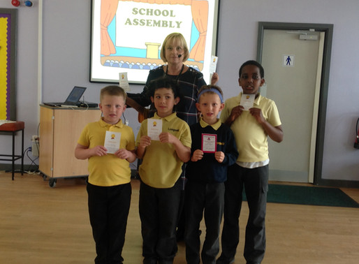 Congratulations to our pupils who received Golden Awards this week!