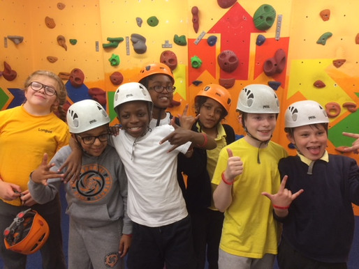 Year 5 and 6 had a great time rock climbing at Red Point in Birmingham. Their confidence and techniq