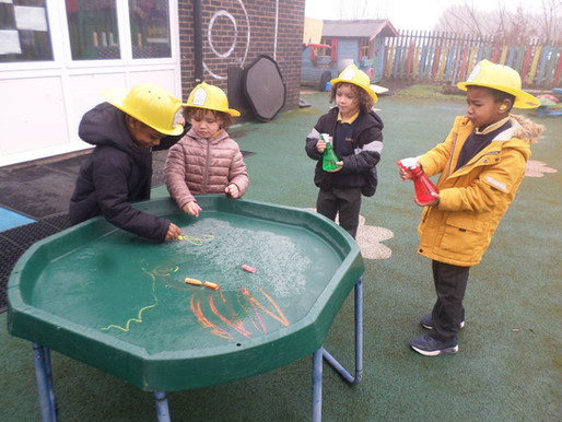 Pupils in our Foundation Department love learning alongside their friends!