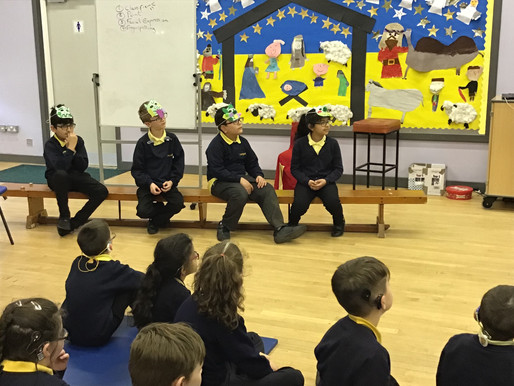 Year 5 (Tulip Class) performed an assembly today about how to manage feelings of jealousy. They show