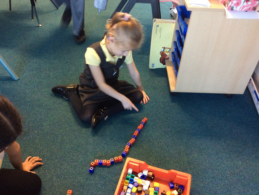Year 1 (Dolphin Class) have been learning about patterns in maths.