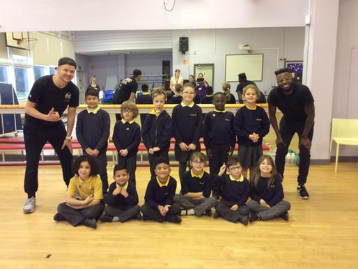 Y3 loved their dance workshop...