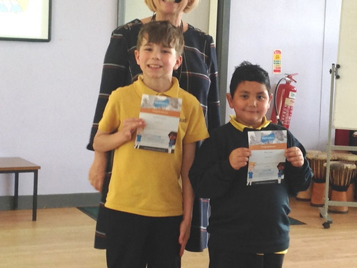 Well done to these two pupils who have worked really hard over the Easter holidays using the Mathlet