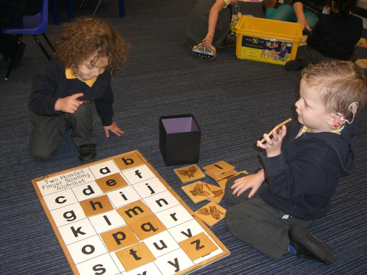 Lily Class (Foundation) really enjoyed their work in phonics this morning!