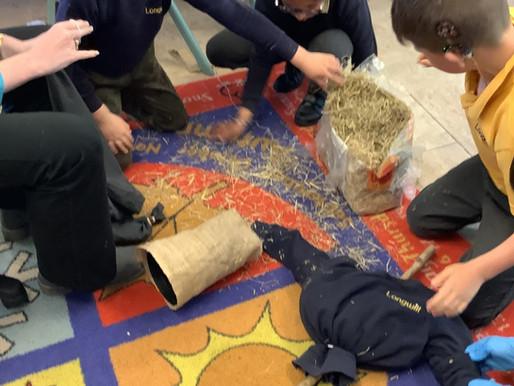 Y3 Meerkats creating their wonderful Wizard of Oz garden