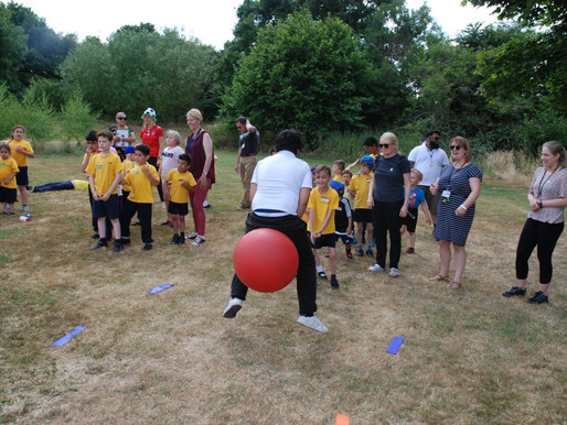 Sports Day was a great success! Pupils loved the wide range of sporting activities on offer!