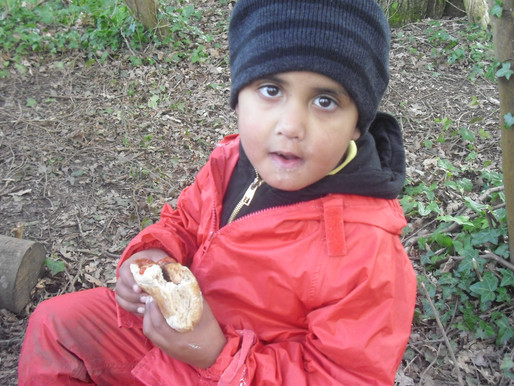 Foundation (Lilies class) had a wonderful time in Forest School and really enjoyed cooking their own