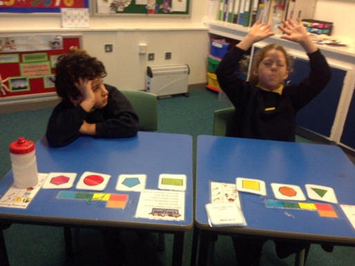 Y3 pupils (Freesia Class) enjoy their maths lesson!