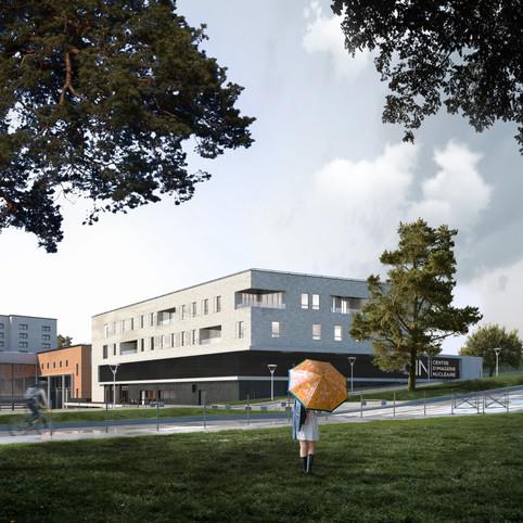 Centre d'imagerie nucléaire.