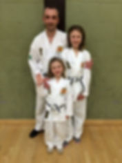 McCarthy Family from Huntingdon QKD Martial Arts class