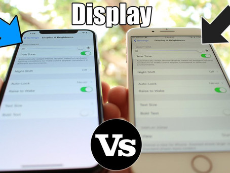 OLED vs LCD Display