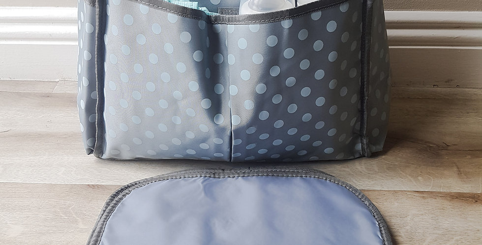 Baby Nappy Bag and Travel Change Mat Combo