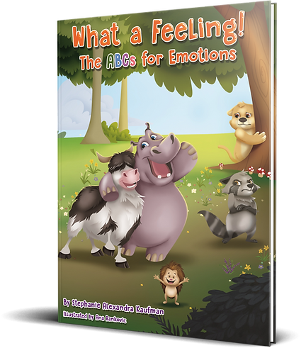 3d What a Feeling! book for kids