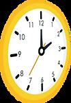 clock what a feeling