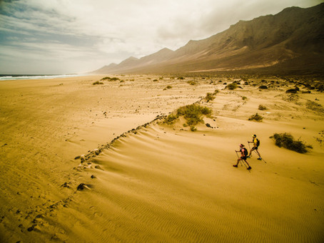 Half Marathons des Sables Series: Stage 1 of 5; Introduction to the race.