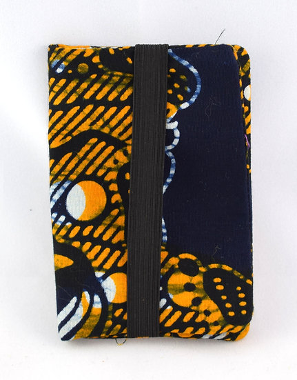 Oyster / Credit / Debit Card Holder - Black & Orange