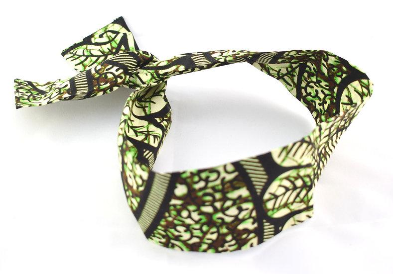 Hairband - Green / Cream