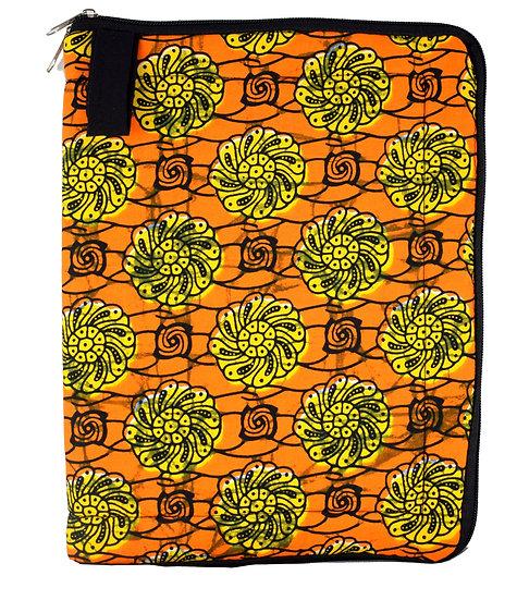 iPad / Tablet Cover - Orange, Black & Yellow