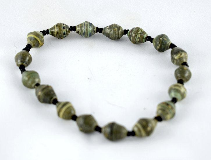 Handmade bead anklet - style 2