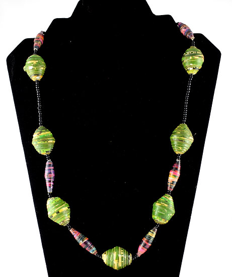 Handmade bead necklace - style 9