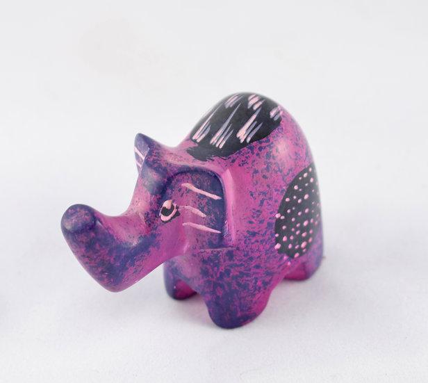 Handmade stone animal ornament - style 8