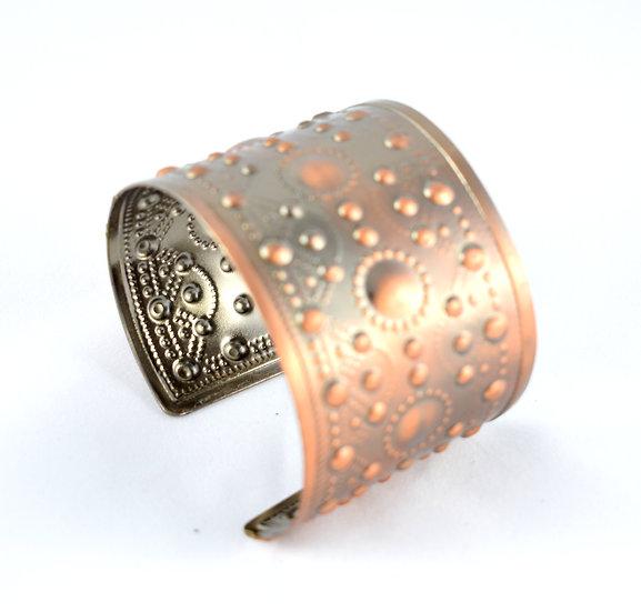 Handmade metal bracelet