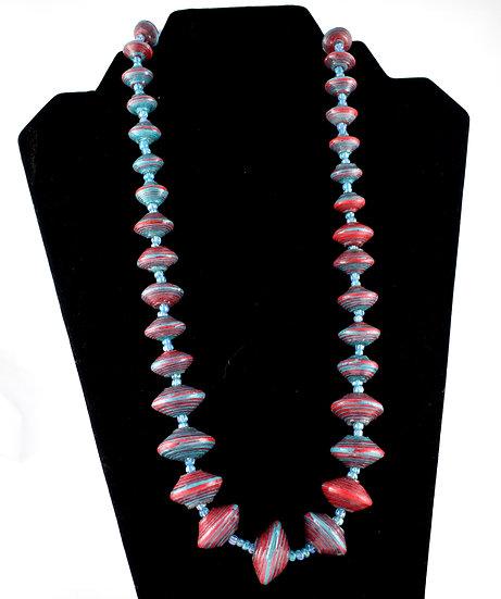 Handmade bead necklace - style 11